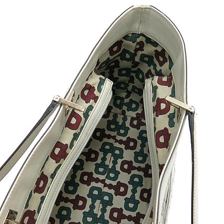 Gucci(구찌) 145993 은장 로고 장식 시마 레더 쇼퍼 숄더백