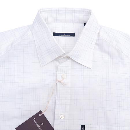 Zegna(제냐) 블럭 스트라이프 패턴 셔츠 이미지2 - 고이비토 중고명품