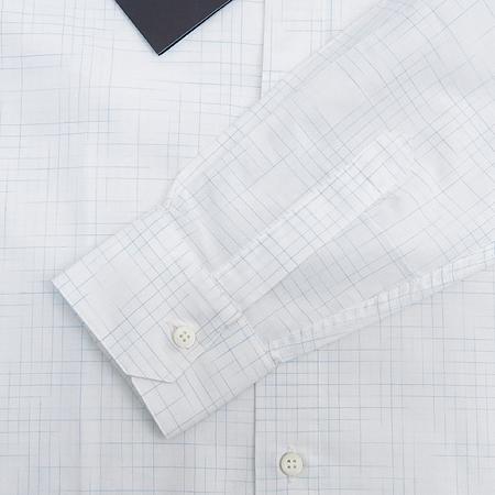 Zegna(제냐) 블럭 스트라이프 패턴 셔츠 이미지4 - 고이비토 중고명품