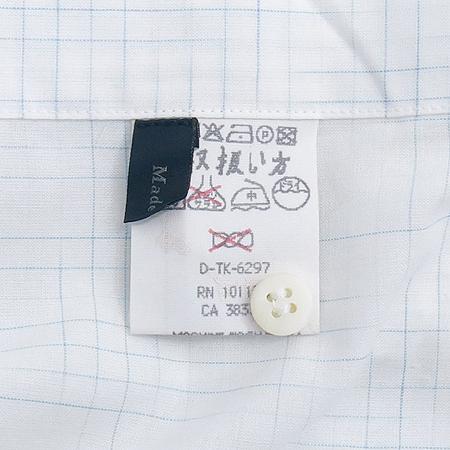 Zegna(제냐) 블럭 스트라이프 패턴 셔츠 이미지5 - 고이비토 중고명품