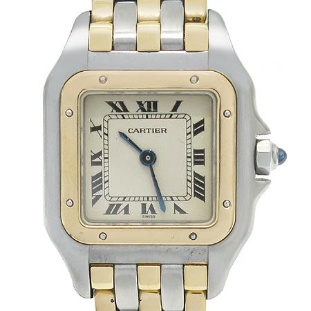 Cartier(까르띠에) 18K 세줄 콤비 팬더 여성용 시계