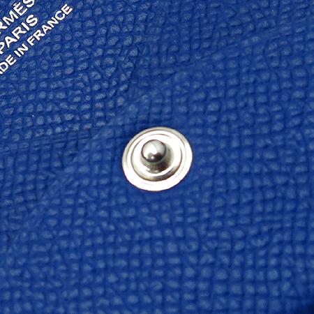 Hermes(에르메스) 블루 레더 명함 겸 카드지갑 [명동매장] 이미지3 - 고이비토 중고명품
