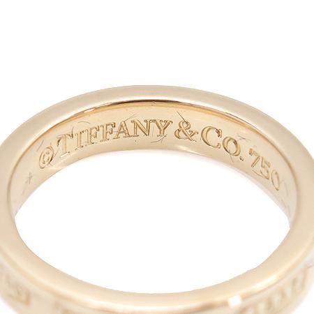 Tiffany(티파니) 18K(750) 옐로우 골드 1837 로고 반지-9호 [동대문점] 이미지4 - 고이비토 중고명품