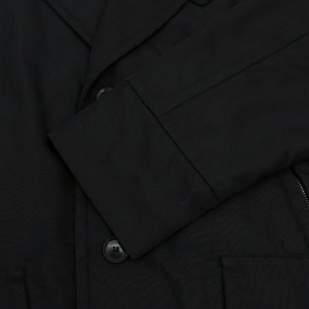 Hugo Boss(휴고보스) CRAVEN-F 블랙컬러 퍼 카라 점퍼 (배색:램스킨100)
