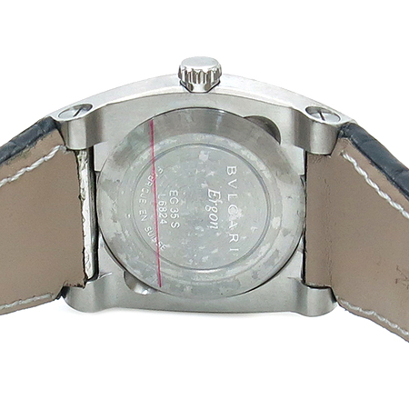Bvlgari(불가리) EG35BSLD  ERGON(에르곤) 오토매틱 가죽 밴드 남여공용 시계