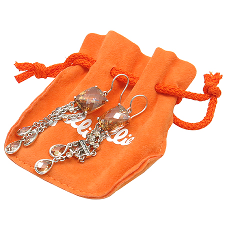 FOLLI FOLLI(폴리폴리) SILVER(925) 비쥬 장식 귀걸이 [강남본점] 이미지2 - 고이비토 중고명품