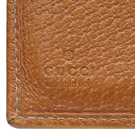 Gucci(구찌) 112716 GG로고 쟈가드 다크 브라운 트리밍 은장로고 2단 반지갑