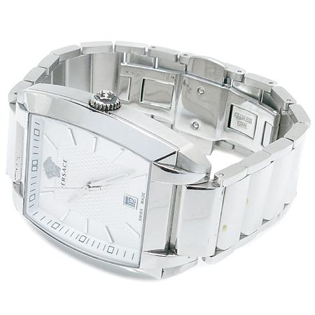 Versace(베르사체) WLQ99D002 스틸 쿼츠 남성용 시계 이미지3 - 고이비토 중고명품
