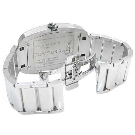 Versace(베르사체) WLQ99D002 스틸 쿼츠 남성용 시계