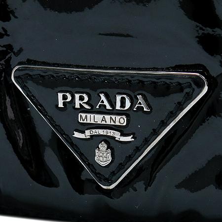 Prada(프라다) BR4594 크로커다일 트리밍 블랙 페이던트 숄더백