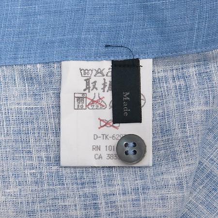 Zegna(제냐) 블루 마혼방 셔츠 이미지4 - 고이비토 중고명품