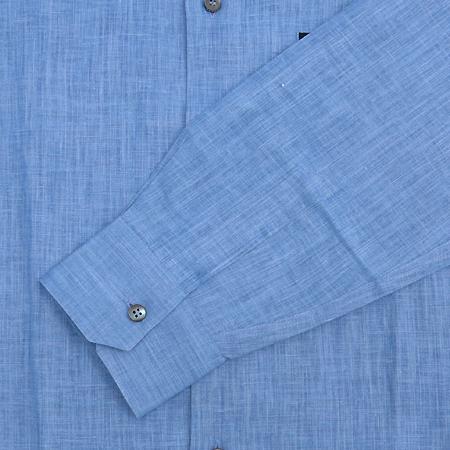 Zegna(제냐) 블루 마혼방 셔츠 이미지3 - 고이비토 중고명품