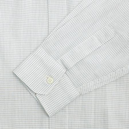 Zegna(제냐) 베이지컬러 블럭스트라이프 셔츠