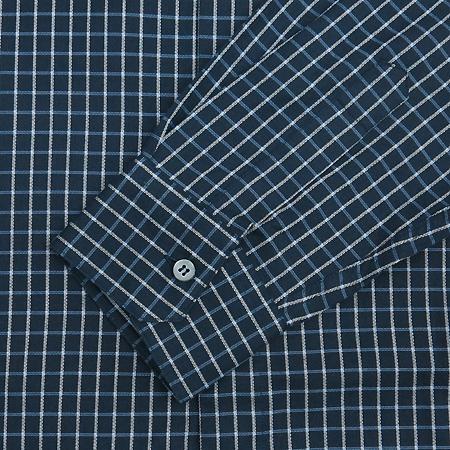 Zegna(제냐) 네이비컬러 블럭스트라이프 셔츠 이미지3 - 고이비토 중고명품