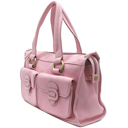 Celine(셀린느) 핑크 컬러 레더 투포켓 토트백 [인천점]