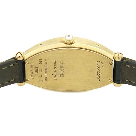 Cartier(까르띠에) WE400331 18K 핑크 골드 베젤 다이아 TONNEAU(토너) 기계식(수동) 여성용 시계