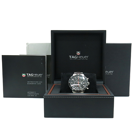 Tag Heuer(�±�ȣ�̾�) CV2014BA0794 CARRERA (ī���� ���) JUAN MANUAL FANGIO(�־� �޴��� ������) LIMITED EDDITION ������ �����ƽ ũ�γ�׷��� ����Ʈ ��ƿ ������ð�
