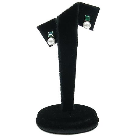 J.ESTINA(제이에스티나) 925 (실버) 커스텀 진주 장식 목걸이 + 귀걸이 세트 이미지3 - 고이비토 중고명품