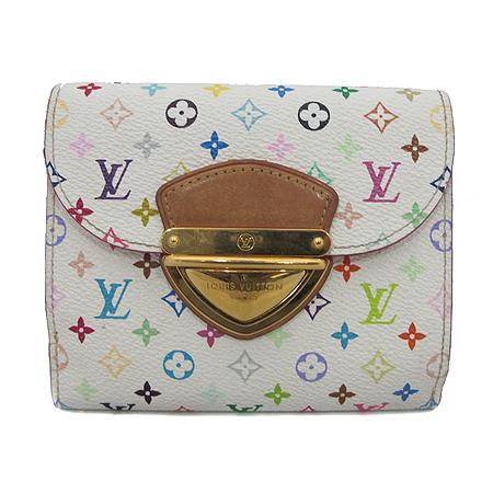 Louis Vuitton(루이비통) M60281 모노그램 멀티 화이트 조이 월릿 반지갑