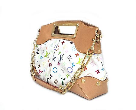 Louis Vuitton(루이비통) M40255 모노그램 멀티 컬러 화이트 주디 MM 2WAY [부산센텀본점] 이미지2 - 고이비토 중고명품