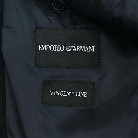 Emporio Armani(엠포리오 아르마니) 블랙 컬러 스트라이프패턴 정장