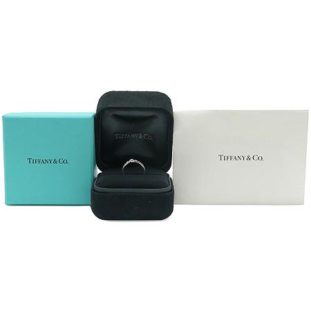 Tiffany(티파니) 18K(750) 화이트 골드 아틀라스 1포인트 반지 - 7호 [동대문점]