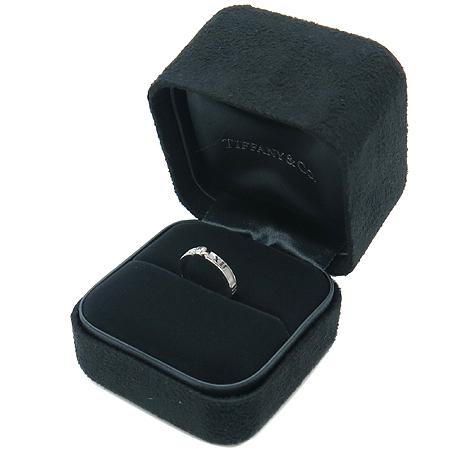 Tiffany(티파니) 18K(750) 화이트 골드 아틀라스 1포인트 반지 - 7호 [동대문점] 이미지2 - 고이비토 중고명품