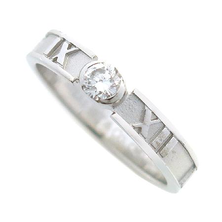 Tiffany(티파니) 18K(750) 화이트 골드 아틀라스 1포인트 반지 - 7호 [동대문점] 이미지3 - 고이비토 중고명품