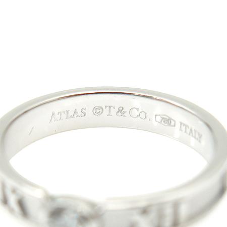 Tiffany(티파니) 18K(750) 화이트 골드 아틀라스 1포인트 반지 - 7호 [동대문점] 이미지4 - 고이비토 중고명품