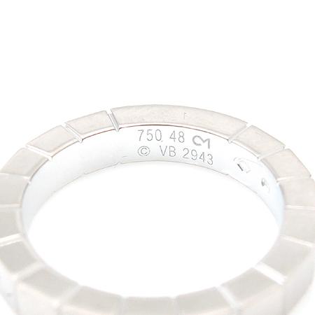 Cartier(까르띠에) B4058759 18K 화이트 골드 라니에르 1포인트 다이아 반지 - 8호