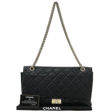 Chanel(샤넬) 2.55 빈티지 L 사이즈 금장 체인 숄더백 [강남본점] 이미지2 - 고이비토 중고명품