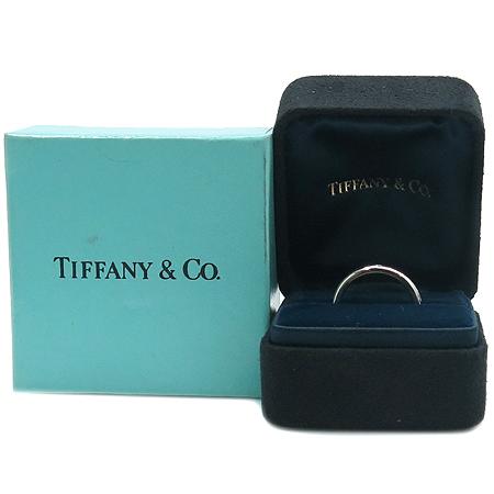 Tiffany(티파니) PT950 (플레티늄) PERETI 1포인트 다이아 반지 - 7호