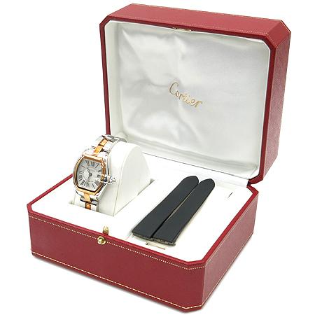 Cartier(까르띠에) W62026Y4 로드스터 18K 콤비 여성용 시계