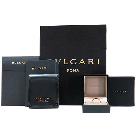 Bvlgari(불가리) AN854185 18K 핑크 골드 NEW BB 1포인트 다이아 반지 - 12호 [명동매장]
