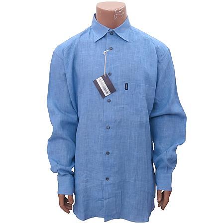 Zegna(제냐) 블루 마혼방 셔츠 [인천점]