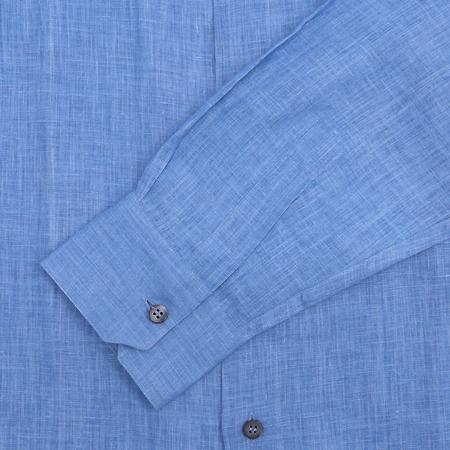 Zegna(제냐) 블루 마혼방 셔츠  [부산센텀본점]