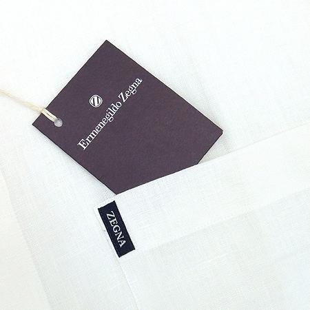 Zegna(제냐) 화이트컬러 린넨 셔츠 이미지3 - 고이비토 중고명품