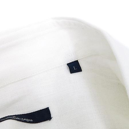 Zegna(제냐) 화이트컬러 린넨 셔츠 이미지6 - 고이비토 중고명품