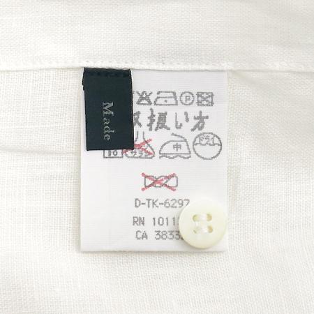Zegna(제냐) 화이트컬러 린넨 셔츠 이미지4 - 고이비토 중고명품