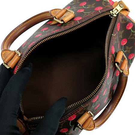 Louis Vuitton(루이비통) M95009 모노그램 캔버스 체리 스피디 25 토트백
