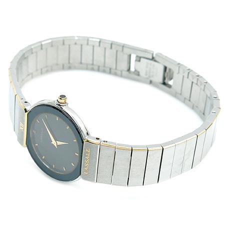 LASSALE (라셀) 라운드 스틸 여성용 시계