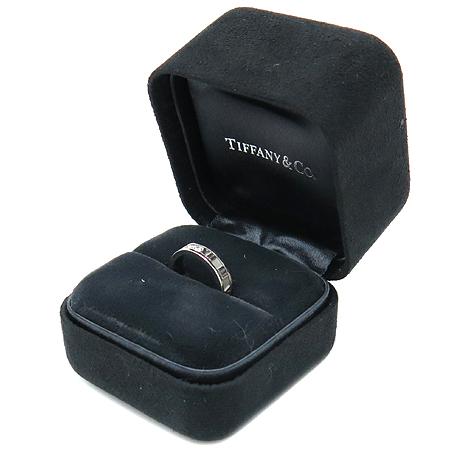 Tiffany(티파니) 18K 화이트골드 아틀라스 3P 다이아 반지 - 9호