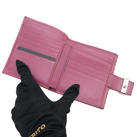 Fendi(펜디) 8M0206 FF 로고 래더 중지갑