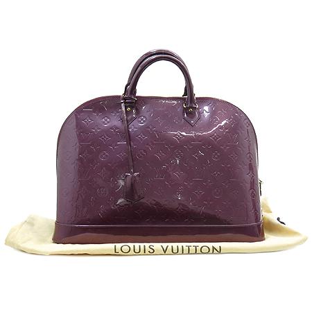 Louis Vuitton(루이비통) M93594 모노그램 베르니 바이올렛 알마 GM 토트백