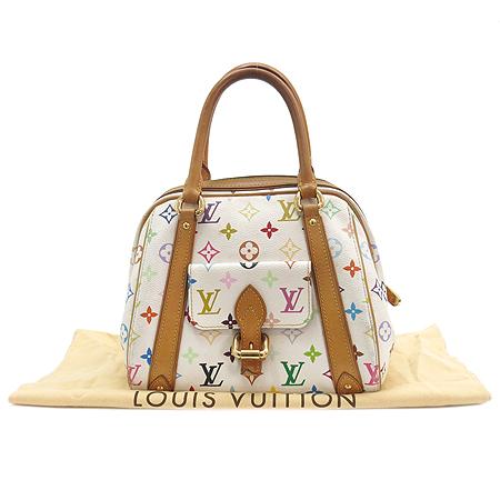 Louis Vuitton(루이비통) M40096 모노그램 멀티컬러 화이트 프리실라 토트백 [강남본점]