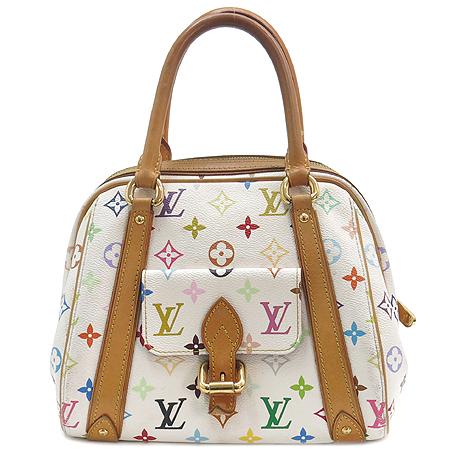 Louis Vuitton(루이비통) M40096 모노그램 멀티컬러 화이트 프리실라 토트백 [강남본점] 이미지2 - 고이비토 중고명품