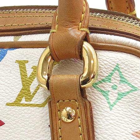 Louis Vuitton(루이비통) M40096 모노그램 멀티컬러 화이트 프리실라 토트백 [강남본점] 이미지4 - 고이비토 중고명품