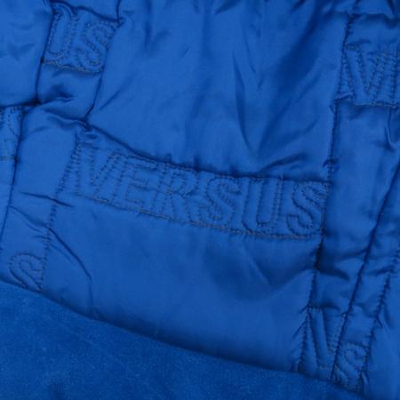 Versace(베르사체) VERSUS(베르수스) 블루 컬러 스웨이드 블루종 자켓