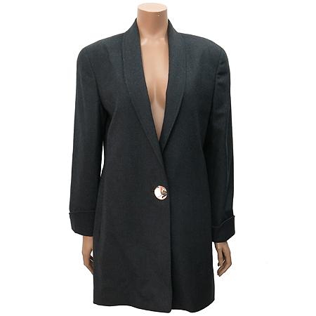 GENNY(제니) 캐시미어 혼방 챠콜 컬러 자켓