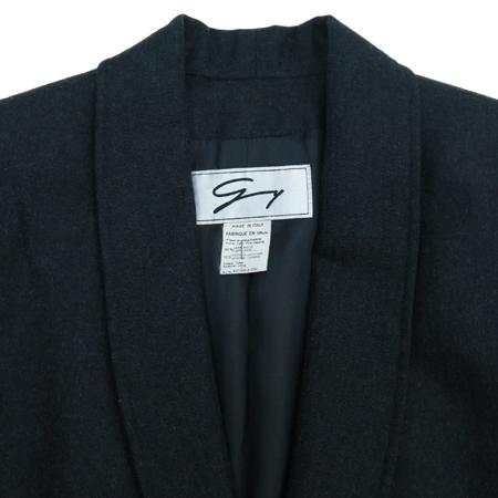 GENNY(제니) 캐시미어 혼방 챠콜 컬러 자켓 이미지2 - 고이비토 중고명품